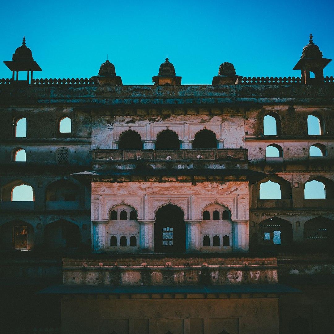 Орчха - затерянный город Индии