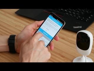 Камера внутреннего видео наблюдения от компании ростелеком.
