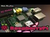 3G GPRS интернет на Raspberry Pi через usb модем