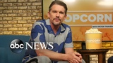 Ethan Hawke looks back on his career and life, talks new film 'Blaze'