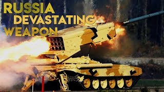 IRON RAIN : TOS-1A The Unique Russia Weapons