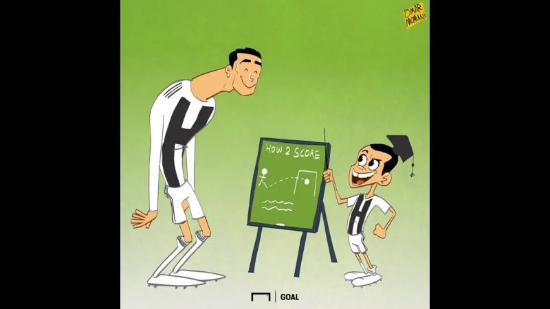 Роналду есть у кого взять пример результативности в «Ювентусе»