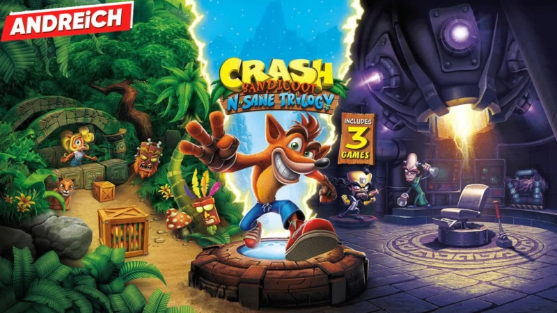 Гость из прошлого: Crash Bandicoot N Sane Trilogy
