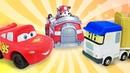 Видео про машинки для детей. Как живут игрушки из мультиков