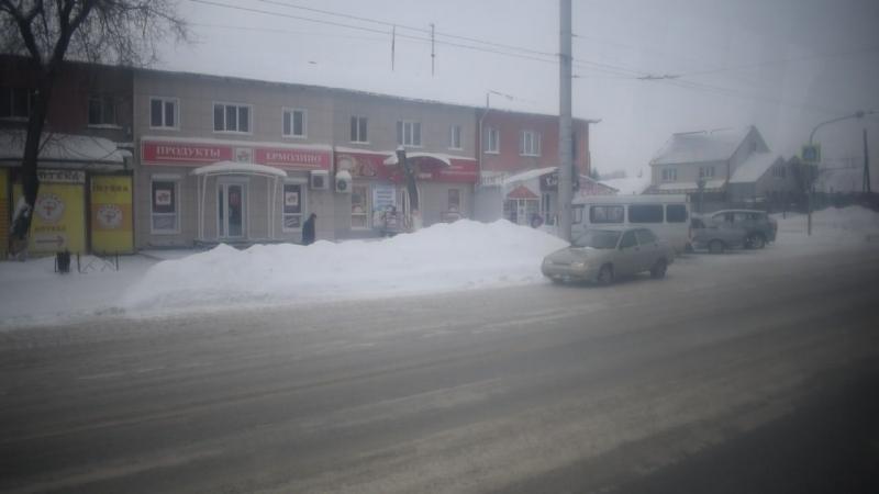 Троллейбус ЗиУ-682 КВР БТРМ-4003. Покатушки по Барнаулу-1.