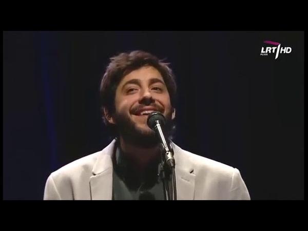 Salvador Sobral en Lituania Salvadoras Sobralis Lietuvoje concierto completo pilnas koncertas