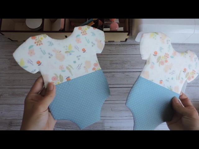 Скрапбукинг: Как обтянуть фигурную обложку тканью
