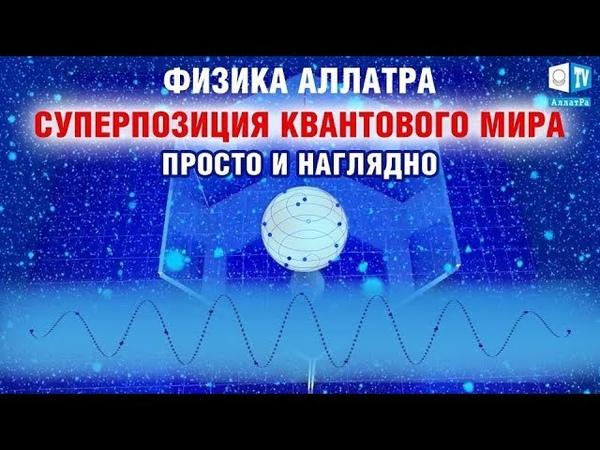 Суперпозиция квантового мира Просто и наглядно ФИЗИКА АЛЛАТРА