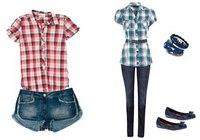 Рекомендации стилистов: с чем носить клетчатые рубашкиМода.  31-01.