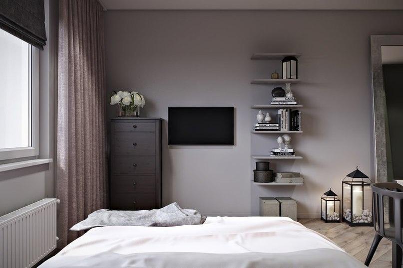 Проект квартиры-студии, 30 кв.