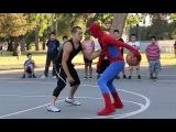 просто шикарно играет в баскет