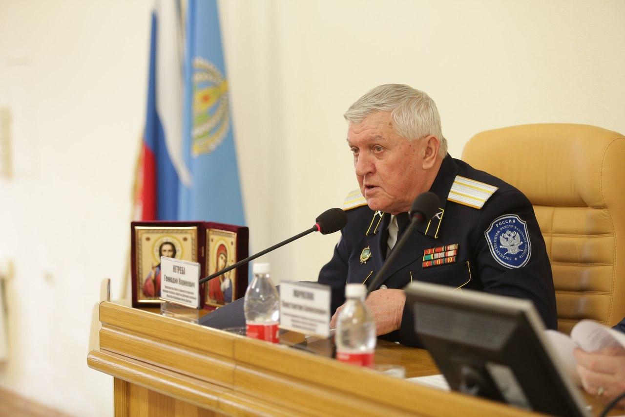 В Астраханской области обсудили развитие казачества HcYr81l8baA