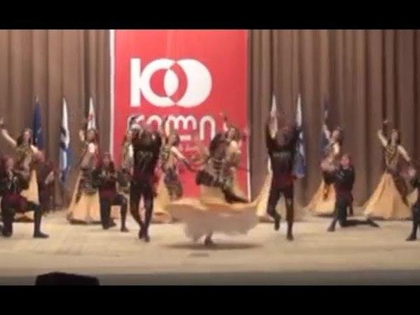 ансамбль Грузии Рустави - танец Гандагана (26.05.2018)
