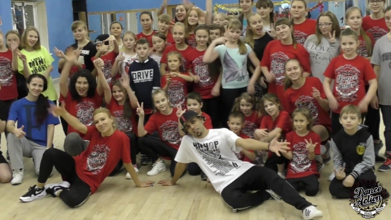 Hip hop Workshop by IZZY Orel2017
