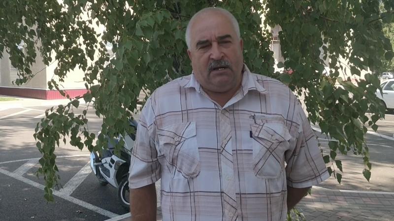 Иван Михайлович Востриков, председатель совета ветеранов локомотивного депо