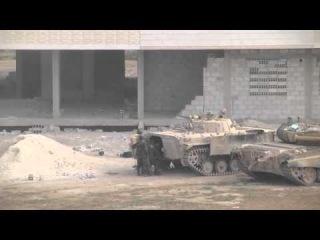 Сирия 2013. Операция по спасению солдата с поля боя