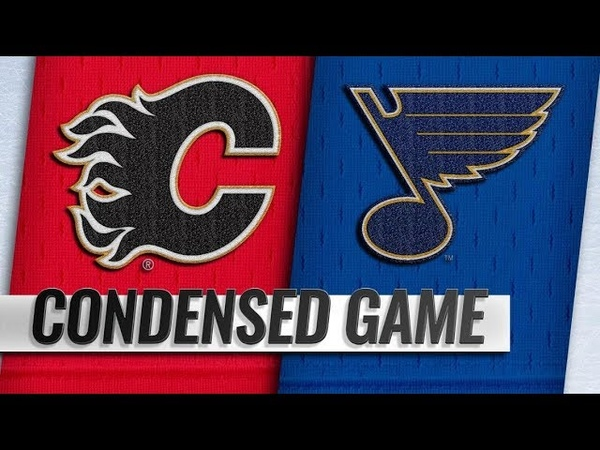 Calgary Flames vs St. Louis Blues | Dec.16, 2018 | Game Highlights | NHL 201819 | Обзор матча