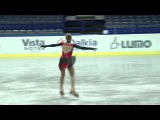 8 МЕСТО- Anastasia GALUSTYAN (ARM) - ISU JGP Czech Skate 2013 Junior Ladies Free Skating