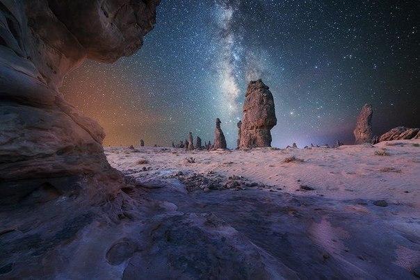Ночь в пустыне, Саудовская Аравия