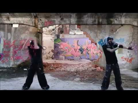 Industrial Dance Centhron - 666 by Patchweurk and Cybergoth Pink Lady