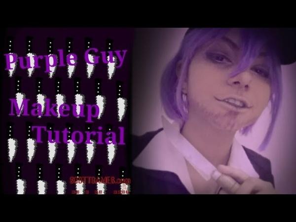 Purple Guy Five Nights At Freddy's Makeup Tutorial