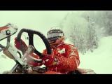 Kimi in Drone Race   Shell #Motorsport