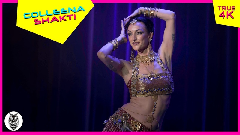 Colleena Shakti Indian Fusion Dancer, at The Massive Spectacular! [True 4K]