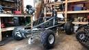 Home made two speed off road go kart part 2