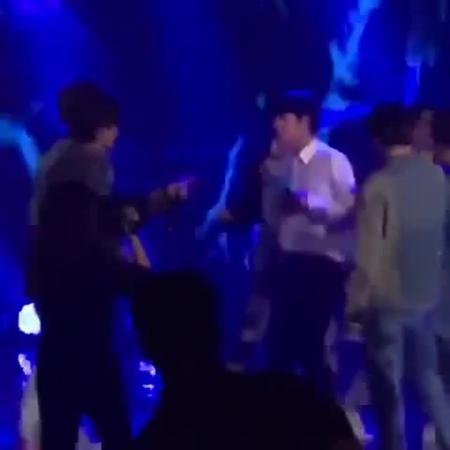 реакция RM на свою партию в исполнении Джина