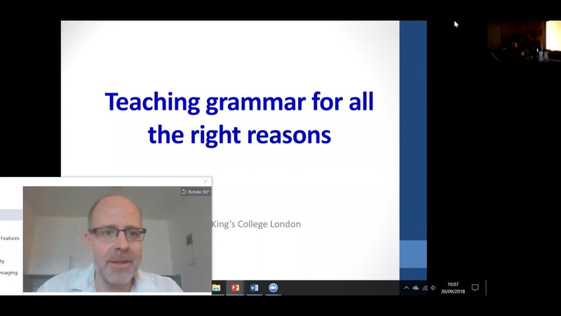 Teaching grammar for all the right reasons