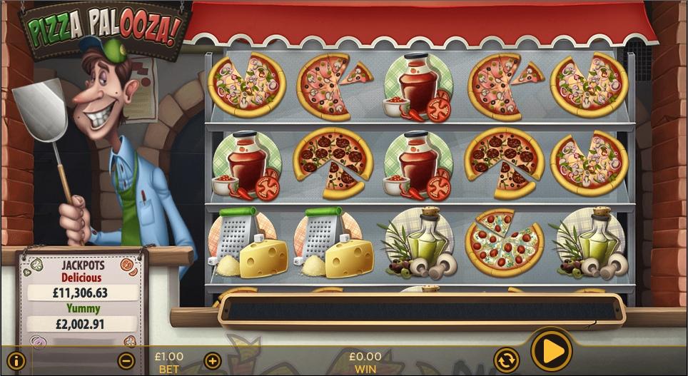 Пицца Палооза! Обзор игровых автоматов
