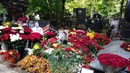 . Могила Иосифа Кобзона на Востряковском кладбище Москвы. 17 дней