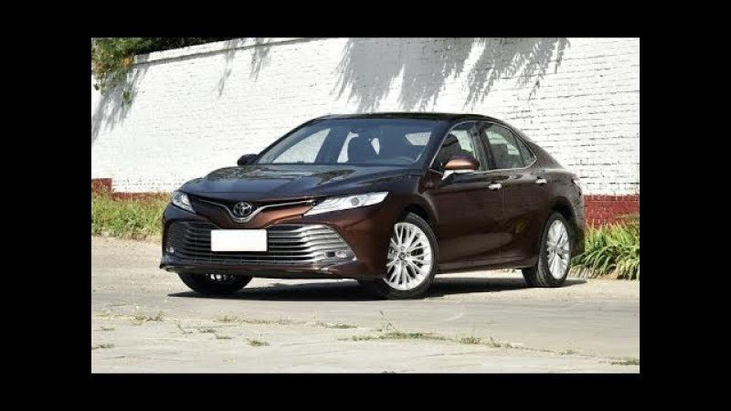 2018 Toyota Camry. Новое, восьмое поколение популярного японского седана Тойота Камри.