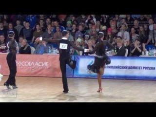 Russian Dancesport Championship Latin 2014 | Final Chacha | Andrey Gusev & Ekaterina Nikolaeva