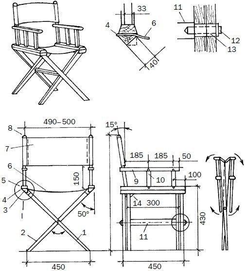 как сделать дома стульчик для рыбалки