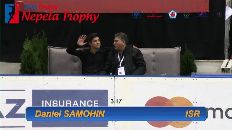 Daniel SAMOHIN SP Ondrej Nepela Trophy 2018
