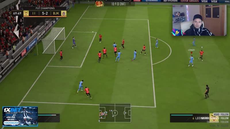 Красивый гол в FIFA19 [StreamSmi]