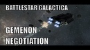 GEMENON NEGOTIATION Battlestar Galactica Deadlock Campaign Gameplay RTS