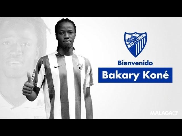 El central Bakary Koné refuerza la defensa del Málaga CF
