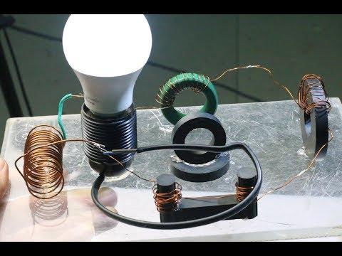 Free Energy Light Bulbs Получение свободной энергии из магнитного поля