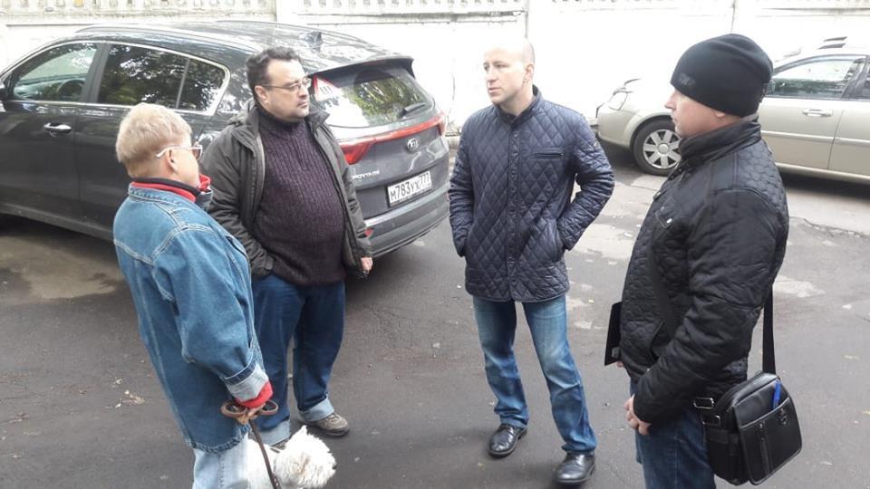 Глава управы Савеловского Евгений Щербачев совершит субботний обход территории