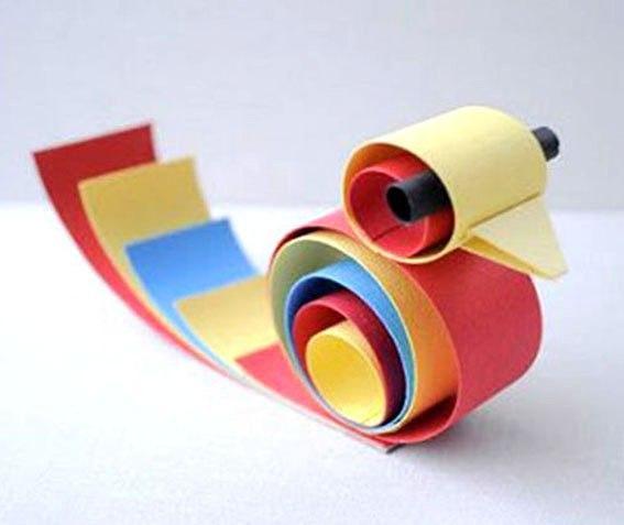 Поделки из бумаги своими руками полоски