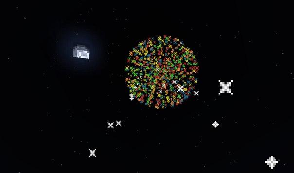 Как сделать большой шар фейерверка в майнкрафте