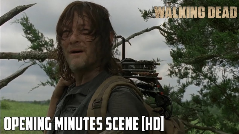 TWD 9x08 Opening First Minutes Evolution Season 9 Episode 08 S09E08 [HD] ALPHA WHISPERER?