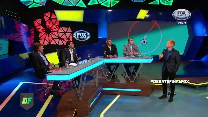 Daniel Avellaneda escalando sua Argentina – Debate Final, FOX Sports (Argentina), março de 2018