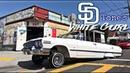 SD Tone's White girl 63 Impala- San Diego