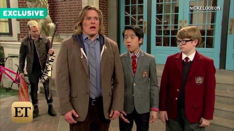 EXCLUSIVE_ Pete Wentz Is Kind of a Jerk in Nickelodeons School of Rock Came