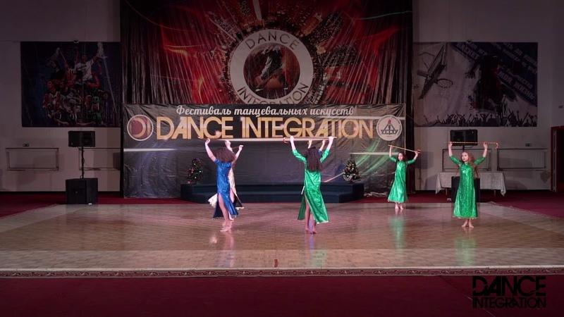 Dance Integration 2018 31 - Saidi Драгоценность Печора
