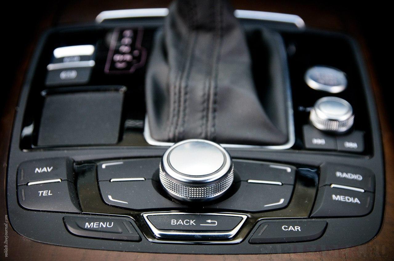 Audi A7 music
