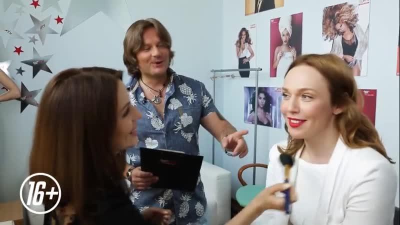 Backstage Альбина Джанабаева в студии Europa Plus TV